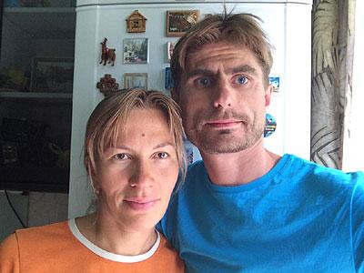 Михаил Рыбаков и Ольга Пайвина
